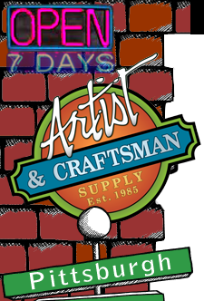 Artist and Craftsman Supply, Pittsburgh