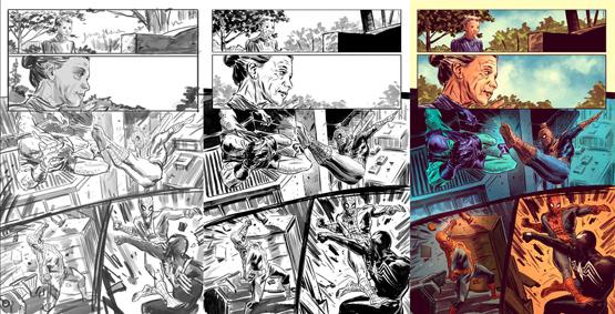 Comic Action Panel 3