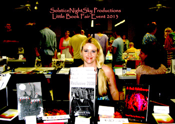 Christine Soltis at The Little Book Fair