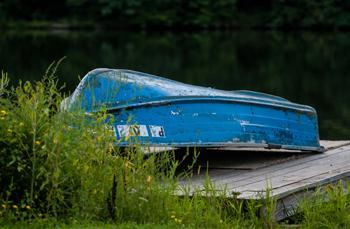 Blue Boat - Rusty Lofgren