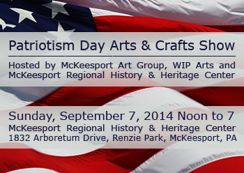 Patriotism Day Art in the Park 2014