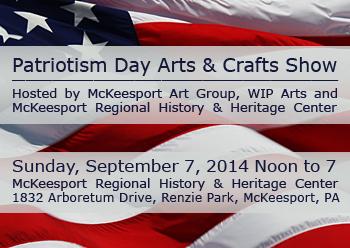 Patriotism Day Art in the Park 2014