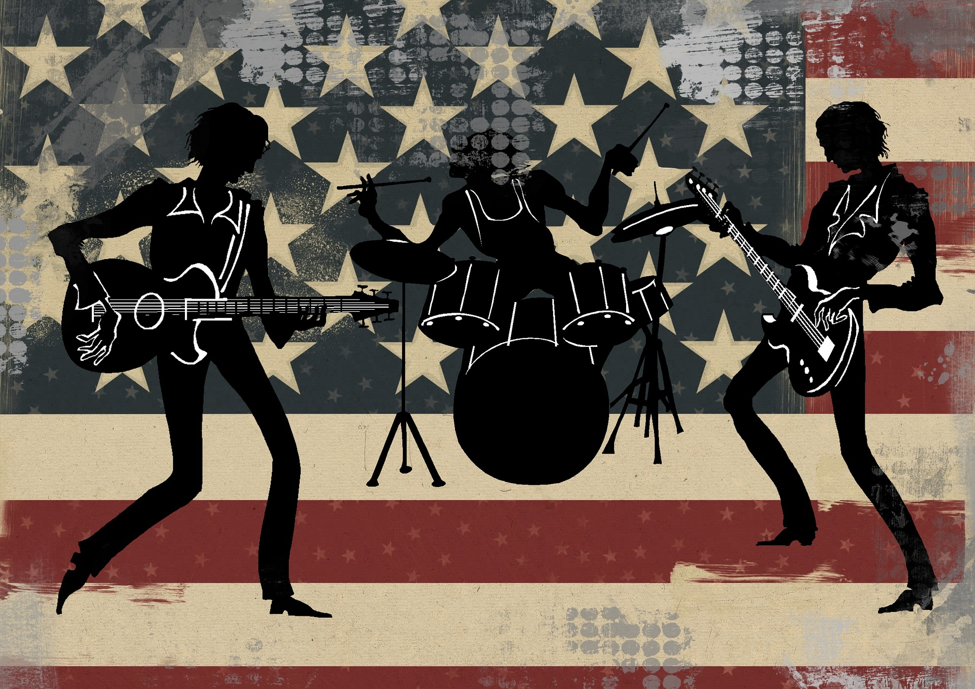American Band image by ArtsyBee at Pixabay