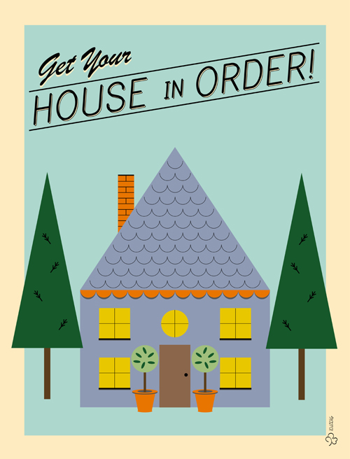 WIPjenni Zazzle House Poster