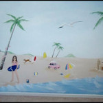Debbi Thompson Beach Mural