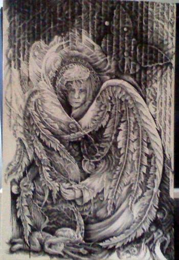 Debbi Thompson Angry Angel